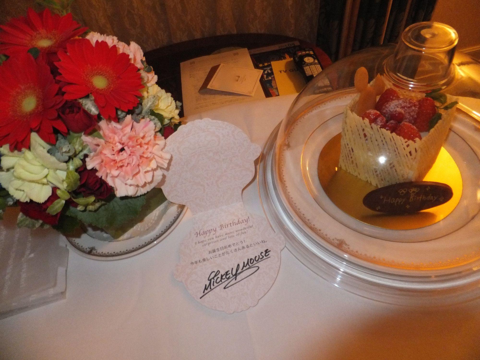 サプライズに最適、ディズニーホテルルームサービス:東京ディズニー